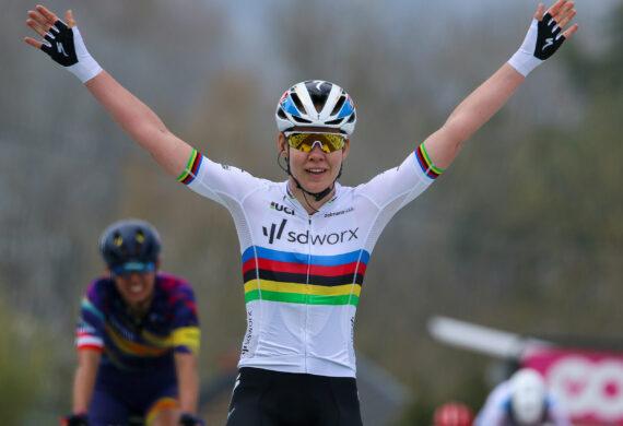 Simac Ladies Tour eert wielerkampioenes met etappe Zwolle-Hardenberg
